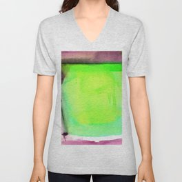 Abstraction No.204f by Kathy Morton Stanion Unisex V-Neck