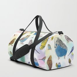 Budgies Duffle Bag