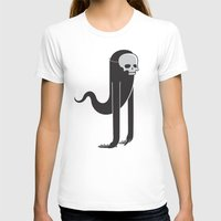 ghost T-shirts featuring Ghost by parallelish