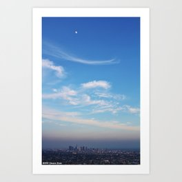 This.IS.LA Art Print
