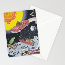 Hang A Louie After The Wormhole Stationery Cards