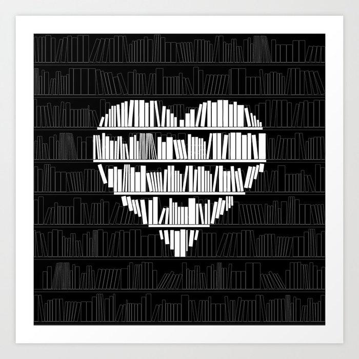 Book Lover Kunstdrucke