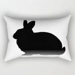 Let's get the rabbit out - Chicago Rectangular Pillow