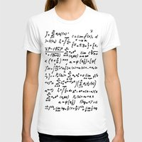 math T-shirts featuring Math by beach please