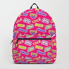 Good vibez / Red Backpack