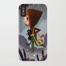 Walk In The Woods iPhone X Slim Case