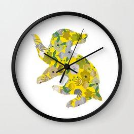 Hufflepuff House Wall Clock