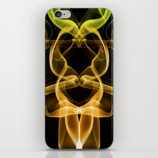 Smoke Photography #9 iPhone & iPod Skin