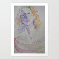 Ethereal Silence Art Print