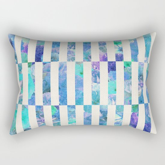 FLORAL ORDER Rectangular Pillow