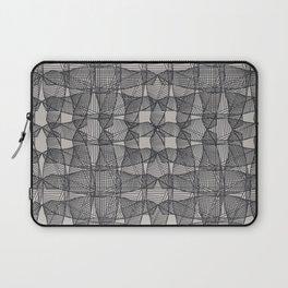 Linear Illusion print Laptop Sleeve