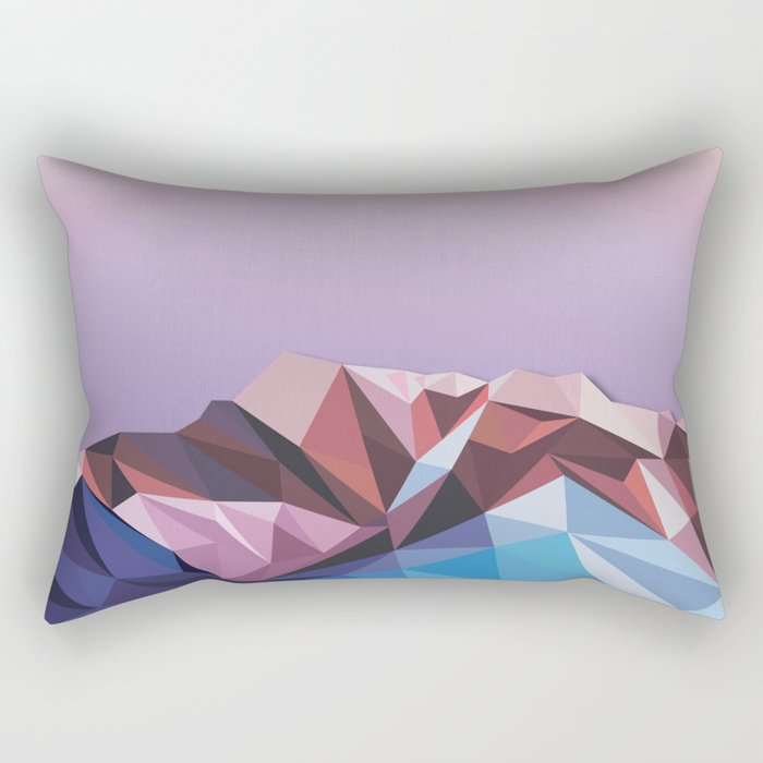 Night Mountains No. 41 Rectangular Pillow