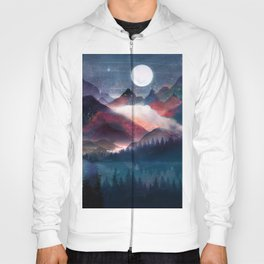 Mountain Lake Under the Stars Hoody