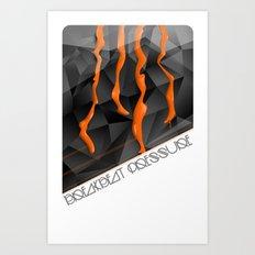 Breakbeat Pressure Art Print