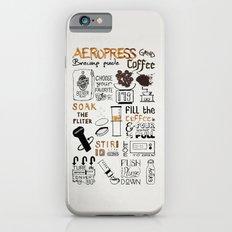 Aeropress poster iPhone 6 Slim Case