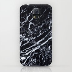 Real Marble Black Galaxy S5 Slim Case