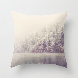 winter wonderland ... Throw Pillow