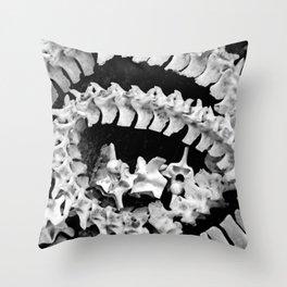 SKELETON IN THE CLOSET Throw Pillow
