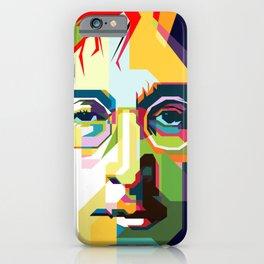 Jealous Guy Pop Art WPAP iPhone Case