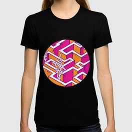 In a labyrinth T-shirt