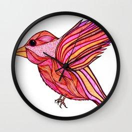 Chickadeedeedee Wall Clock