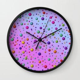little dots -3- Wall Clock