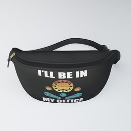 Pinball Player Gift Fanny Pack
