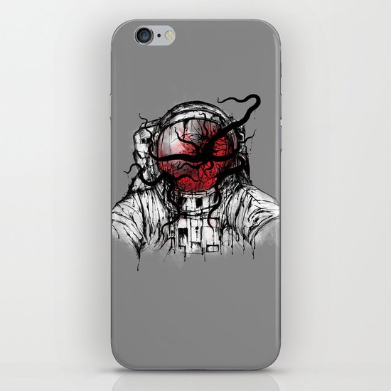 Space Parasitism iPhone & iPod Skin