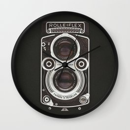Vintage Camera 02 Wall Clock