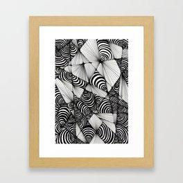 Optical Design Framed Art Print