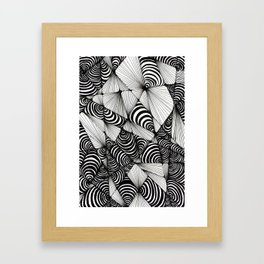 Optical Design Framed Art Print