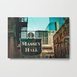 Massey hall 2017 Metal Print