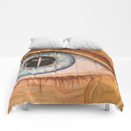 Reflection in Eye Comforters