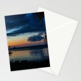 Sunset on Spanish Cay Bahamas Stationery Cards