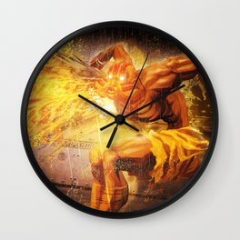 Dhalsim Wall Clock