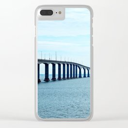 Under the Bridge and Beyond Clear iPhone Case