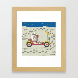 Moon Rover 1969 Framed Art Print