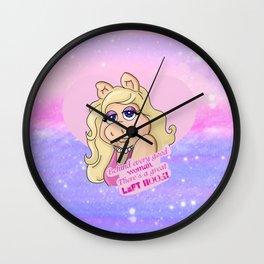 Miss Piggy Wall Clock