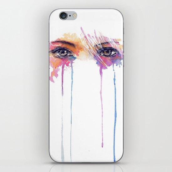 Rainbow Tears iPhone & iPod Skin