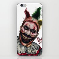 ahs iPhone & iPod Skins featuring Twisty-AHS No.2 by MELCHOMM