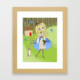Lolita Princess Framed Art Print