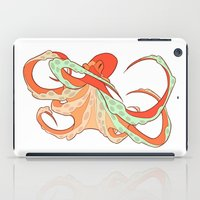 octopus iPad Cases featuring Octopus by Jemma Salume
