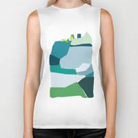 under the sea Biker Tanks featuring under the sea by frameless