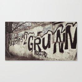 Graffity 1 Canvas Print