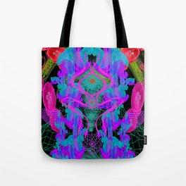 Jellyfish Warp Tote Bag