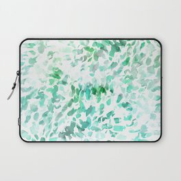 Petal Soft Green Laptop Sleeve