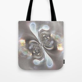 Magnetism - Abstract Art by Fluid Nature Tote Bag