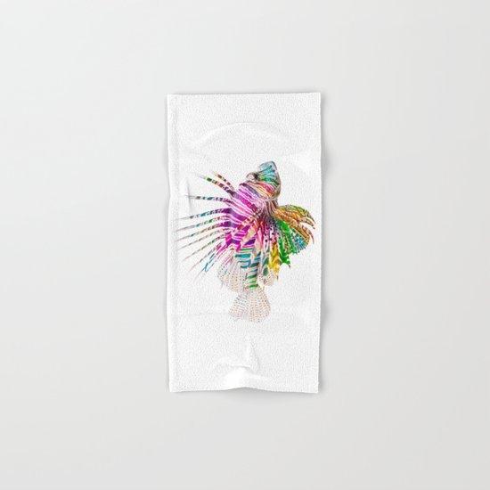 When I Dream of Lionfish Hand & Bath Towel
