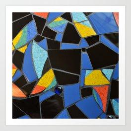 Toucan Dance Mosaic Art Print