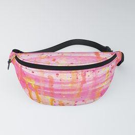 Confetti Abstract High Flow Acrylic Painting Fanny Pack